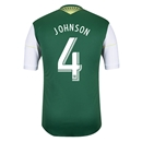 Portland Timbers 2014 JOHNSON Authentic Primary Soccer Jersey