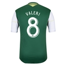 Portland Timbers 2014 VALERI Authentic Primary Soccer Jersey