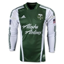 Portland Timbers 2014 Authentic LS Primary Soccer Jersey