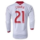Portland Timbers 2013 CHARA LS Authentic Secondary Soccer Jersey