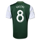 Portland Timbers 2014 VALERI Primary Soccer Jersey