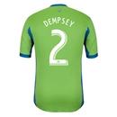 Seattle Sounders FC 2013 DEMPSEY Authentic Primary Soccer Jersey