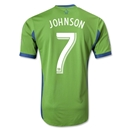 Seattle Sounders FC 2013 JOHNSON Authentic Primary Soccer Jersey