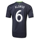Seattle Sounders FC 2014 ALONSO Authentic Secondary Soccer Jersey