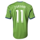 Seattle Sounders FC 2013 ZAKUANI Primary Soccer Jersey