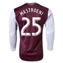 Colorado Rapids 2013 MASTROENI LS Authentic Primary Soccer Jersey