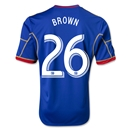 Colorado Rapids 2014 BROWN Secondary Soccer Jersey