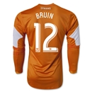 Houston Dynamo 2014 BRUIN LS Authentic Primary Soccer Jersey