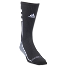 adidas Team Speed Crew Sock (Blk/Grey)