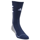 adidas Team Speed Crew Sock (Navy/White)