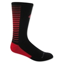 adidas Team Speed Vertical Crew Sock (Blk/Red)