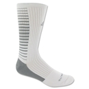 adidas Team Speed Vertical Crew Sock (White/Gray)