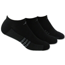 adidas ClimaCool Superlite 3-Pack No Show Sock (Blk/Grey)