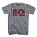 Croatia Vintage T-Shirt (Gray)