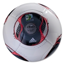 adidas FIFA Confederations Cup 2013 Glider Ball (White/Black)
