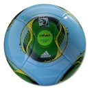 adidas FIFA Confederations Cup 2013 Glider Ball (Light Aqua/Vivid Green)