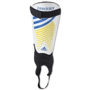 adidas Predator Club 13 Shinguard (White/Pool/Collegiate Navy)