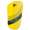 adidas F50 Lesto 12 Shinguard (Vivid Yellow/White)