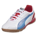 PUMA evoSpeed 5 Leather IT (White/Limoges/Ribbon Red)