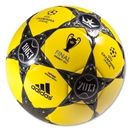adidas UEFA Champions League Finale Wembley Capitano Ball (Vivid Yellow/Black)