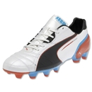 PUMA Spirit FG (Metallic White/Black)