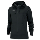 Nike Women's Full-Zip Poly Fleece Hoody (Black)