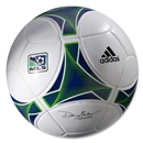 adidas MLS 2013 Official Match Ball (White/Collegiate Royal/Intense Green)