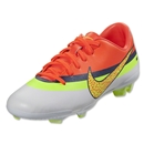 Nike Junior Mercurial Veloce CR FG (White/Volt/Total Crimson)
