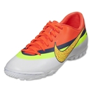 Nike Mercurial Victory IV CR TF (White/Volt/Total Crimson)