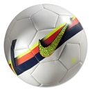 Nike CR7 Prestige Ball (White/Total Crimson)