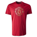 Manchester United Core Basic Crest T-Shirt