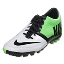 Nike Bomba Pro II Indoor Shoe (White/Black/Neo Lime)
