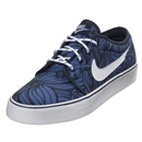 Nike Toki Low Textile Leisure Shoe (Obsidian/White)