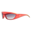 Liverpool Wrap Sunglasses (Red)