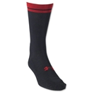 Under Armour Zagger HeatGear Crew Sock (Blk/Red)