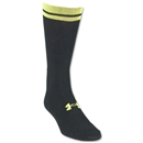 Under Armour Zagger HeatGear Crew Sock (Blk/Yellow)