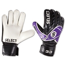 Select 33 Glove (Black/Purple)