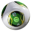 adidas FIFA Confederations Cup 2013 Glider Ball (White/Green)