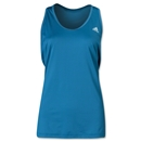 adidas Women's Perfect Rib Tank (Teal)