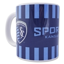 Sporting KC Scarf Mug Set of 2