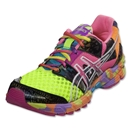 Asics Women's GEL-Noosa Tri 8 Running Shoe (Flash Yellow/Flash Orange/Multi)