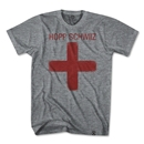 Hopp Schwiiz Cross T-Shirt (Gray)