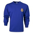 Real Madrid 60's LS Away Soccer Jersey