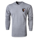 Charlotte Eagles Soccer LS T-Shirt (Grey)