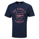 Arsenal The Kings of London T-Shirt (Navy)