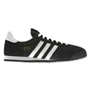 adidas Originals Dragon Leisure Shoe (Black/White/Metallic Gold)