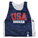 USA Soccer Reversible Pinnie (Navy/White)