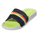 Nike Benassi Solarsoft Slide Sandal (Loyal Blue/Total Crimson)