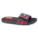 Nike Comfort Slide 2 Sandal (Dark Shadow/Varsity Red)