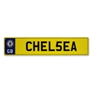 Chelsea Number Plate Sign